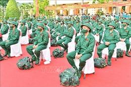 Quân khu 9 giao, nhận quân an toàn