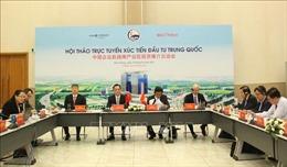 Kết nối xúc tiến đầu tư Việt Nam-Trung Quốc