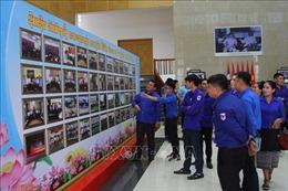 Mít tinh tại Lào kỷ niệm 90 năm ngày thành lập Đoàn thanh niên Cộng sản Hồ Chí Minh