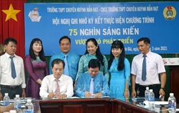 Kiên Giang tích cực thực hiện Chương trình '75 nghìn sáng kiến, vượt khó phát triển'