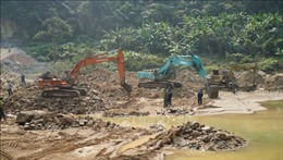 Tiếp tục tìm kiếm những công nhân còn mất tích ở thủy điện Rào Trăng 3