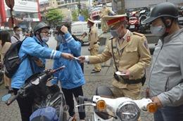 Hải Phòng xử phạt 115 trường hợp ngày đầu ra quân tổng kiểm soát mô tô, xe máy