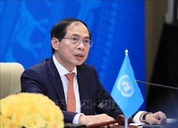 Bộ trưởng Ngoại giao Bùi Thanh Sơn tiếp đặc phái viên của TTK LHQ về Myanmar