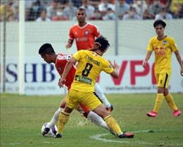 Hoàng Anh Gia Lai vững ngôi đầu bảng, Hà Nội FC thất thủ trên sân nhà