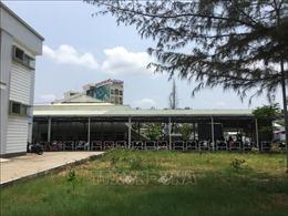 Nhà giữ xe của Bệnh viện Sản - Nhi Cà Mau đã hoạt động bình thường