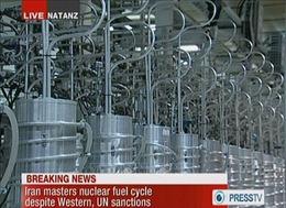 Iran bắt đầu làm giàu urani với tốc độ nhanh hơn