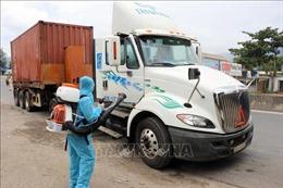 Long An: Giảm tối đa nguy cơ lây nhiễm dịch bệnh qua hoạt động vận tải hàng hóa
