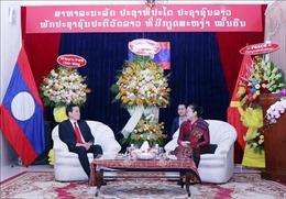 Lãnh đạo TP Hồ Chí Minh chúc mừng Tết cổ truyền Bunpimay của Lào
