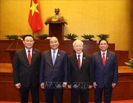 Lãnh đạo các nước gửi điện, thư chúc mừng Lãnh đạo Việt Nam