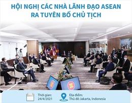 Hội nghị các nhà lãnh đạo ASEAN ra tuyên bố Chủ tịch