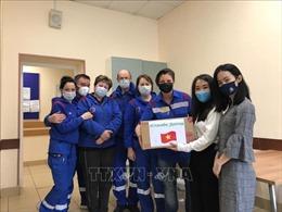 Người Việt tại Moskva tri ân các bác sỹ Nga nhân ngày truyền thống ngành cứu thương
