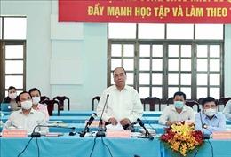 Chủ tịch nước dự hội nghị dành cho các ứng cử viên ĐBQH tại TP Hồ Chí Minh