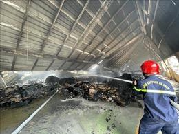 Dập tắt hoàn toàn vụ cháy kéo dài hơn 17 giờ tại Khu công nghiệp Phú Bài