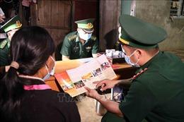 Lực lượng Biên phòng Lai Châu đa dạng các hình thức tuyên truyền bầu cử