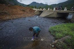 Tái diễn tình trạng ô nhiễm nguồn nước suối Cái