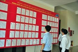 Quảng Nam: Gửi trọn niềm tin trong từng lá phiếu