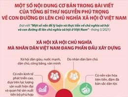 Một số nội dung cơ bản trong bài viết của Tổng Bí thư Nguyễn Phú Trọng về con đường đi lên CNXH ở Việt Nam