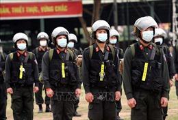 Tăng cường Cảnh sát cơ động hỗ trợ Bắc Giang