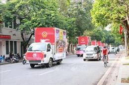 Hà Nội: Tổ chức đoàn xe diễu hành tuyên truyền về bầu cử QH và HĐND