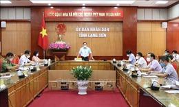Lạng Sơn: Đảm bảo an toàn phòng, chống dịch trong thời gian bầu cử