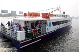 Tạm ngừng hoạt động tàu cao tốc bến Bạch Đằng đi Cần Giờ và Vũng Tàu