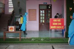 Phun khử khuẩn các khu cách ly ở Bắc Giang, bảo đảm an toàn cho ngày bầu cử