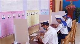 Ngày hội bầu cử tại đảo tiền tiêu Bạch Long Vĩ