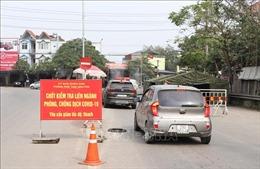 Khẩn trương chống dịch COVID-19 tại thị xã Phổ Yên, Thái Nguyên