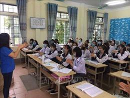 Trên 13.500 học sinh lớp 12 của tỉnh Vĩnh Phúc trở lại trường học từ ngày 31/5