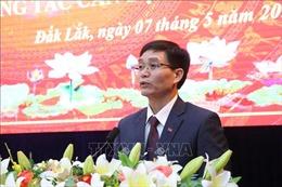 Đồng chí Nguyễn Đình Trung giữ chức Bí thư Tỉnh ủy Đắk Lắk