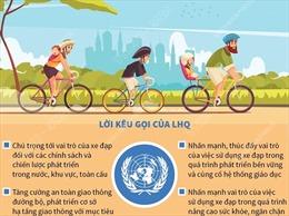 Ngày Xe đạp thế giới 3/6/2021: Khuyến khích việc đạp xe