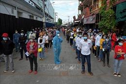 Campuchia thêm 538 ca mắc, 10 ca tử vong do COVID-19
