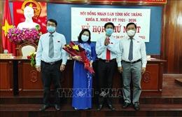 Bà Hồ Thị Cẩm Đào được bầu giữ chức Chủ tịch HĐND tỉnh Sóc Trăng khóa X