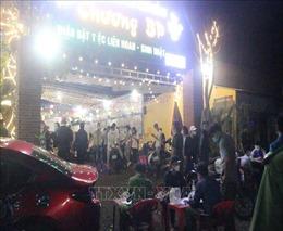 53 thanh thiếu niên tụ tập tổ chức sinh nhật, vi phạm về phòng, chống dịch