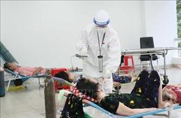 Bên trong một bệnh viện dã chiến điều trị bệnh nhân COVID-19 tại TP Hồ Chí Minh