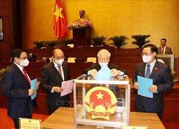 Quốc hội phê chuẩn việc bổ nhiệm Phó Thủ tướng, Bộ trưởng và thành viên khác của Chính phủ