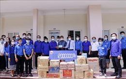 Trung ương Đoàn Thanh niên Lào hỗ trợ các lưu học sinh Việt Nam tại Viêng Chăn