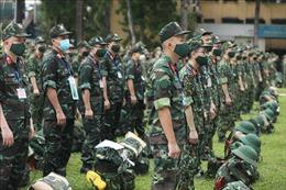 Quân đội quyết tâm bằng mọi cách hỗ trợ các địa phương phía Nam khắc phục dịch triệt để