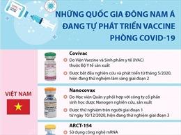 Những quốc gia Đông Nam Á đang tự phát triển vaccine phòng COVID-19