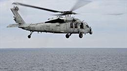 Vụ rơi máy bay trực thăng Hải quân Mỹ: 5 người mất tích