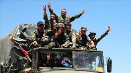 Quân đội Syria đẩy mạnh chiến dịch tấn công ở thành phố Deraa