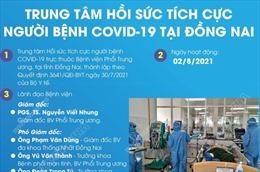 Trung tâm hồi sức tích cực người bệnh COVID-19 tại Đồng Nai