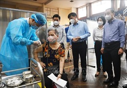 Bộ trưởng Bộ Y tế: Hà Nội đẩy nhanh tốc độ tiêm chủng nhưng phải đảm bảo an toàn