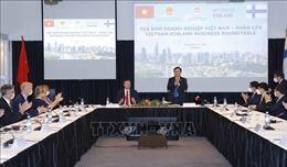 Chủ tịch Quốc hội Vương Đình Huệ dự Tọa đàm doanh nghiệp Việt Nam-Phần Lan