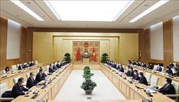 Thủ tướng Chính phủ Phạm Minh Chính tiếp Ủy viên Quốc vụ, Bộ trưởng Ngoại giao Trung Quốc Vương Nghị