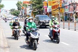 Shipper được lưu thông liên quận tại TP Hồ Chí Minh sau ngày 16/9