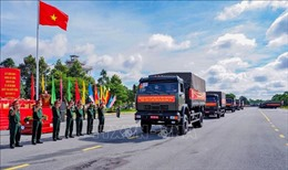 Quân khu 9 tăng cường 1.000 nhân lực hỗ trợ TP Hồ Chí Minh chống dịch