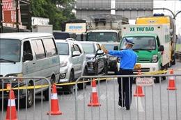 Bộ Giao thông vận tải yêu cầu chấm dứt tình trạng ùn tắc các chốt kiểm soát