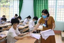 Học sinh 'vùng xanh' ở Đắk Lắk đến trường học từ ngày 4/10