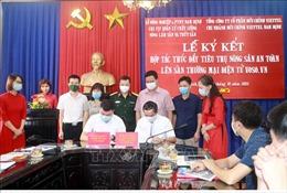 Nam Định đưa nông sản lên sàn điện tử